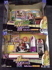 Disney Hannah Montana Malibu Beach House living room bedroom Playset NEW RARE