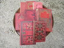 Lote de 8 antiguos libro literatura jeunesse principios 20ème con ilustraciones