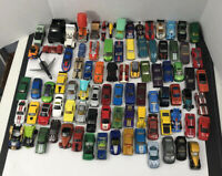 Huge Mixed Lot Toy Cars - 80+ Picked At Random - Hot Wheels Matchbox & Mattel
