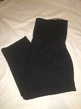 J CREW WOMEN'S  RHODES PANT IN ITALIAN WOOL SIZE-10 F4450 NAVY $128 Sold Out