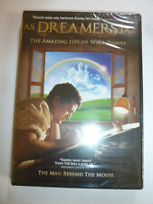 As Dreamers Do: The Amazing Life of Walt Disney Dvd movie drama biography New!