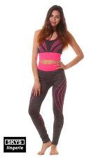 NEVADA ensemble sport détente coloris gris-rose Skys Lingerie Taille XL