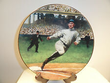 "Ty Cobb ""The Georgia Peach"" Limited Edition Plate"