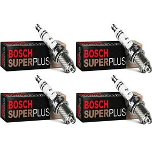4 Bosch Copper Core Spark Plugs For 1986-1989 NISSAN D21 L4-2.4L