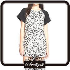 KEEPSAKE Black Printed Shift Dress Size XS RRP $149.95 (10A)