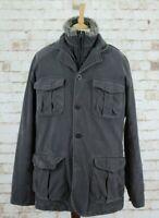 TIMBERLAND Grey Lined Jacket size XL