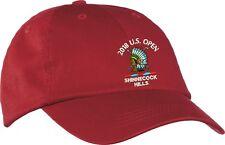 US Open Golf Tournament Golf Hat Cap Red
