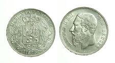 pci2961) BELGIO - LEOPOLDO II -  5 FRANCS  1875