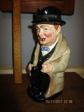 Royal Doulton 9 in. Churchill Toby Jug.Royal Doulton Winston Churchill Toby Jug