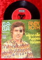 Single Andy Roth: Ela-Ela / dt. Originalaufnahme