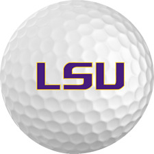 LSU Titleist ProV1 Refinished NCAA Golf Balls 12 Pack