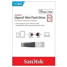 SanDisk iXpand Mini Flash Drive 64GB USB 3.0 Flash Drive Memory Stick For iPhone