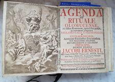Lateinische antiquarische Bücher aus Leder