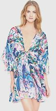 GOTTEX LES PLUMES SILK TUNIC/COVERUP/DRESS SMALL  UK/10-12 NEW + TAGS RRRP £248
