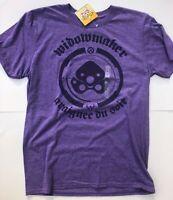 Overwatch Funko Pop Tee Widowmaker Purple Video Gaming T Shirt M XL