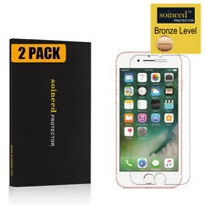 [2-Pack] SOINEED For iPhone 7 8 Tempered Glass Screen Protector Bubble Free