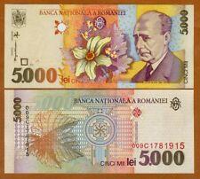 Romania, 5000 Lei, 1998, P-107, UNC