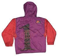 Veste The Sports & Fitness Company Rare Vintage Nike 1 Hooded Jacket / Rouge M