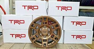 "🔥17"" Bronze Toyota TRD Pro Wheels Toyota Tacoma, 4Runner, FJ Cruiser Set of 4🔥"