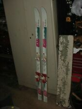 "VINTAGE SNOW SKIS 58"" COTTAGE CABIN DECOR ELAN 6000 SP S137 OMNI SERIES"