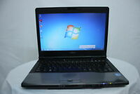 "Laptop Fujitsu Lifebook S752 14.1"" i5-3230M 4GB 320GB Windows 7 Webcam GRADE C"