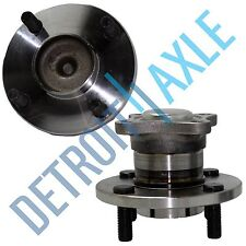 Set of (2) NEW Rear Driver and Passenger Wheel Hub and Bearing Assembly w/o ABS