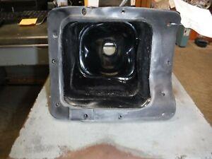 1999 GMC JIMMY S15 FOAM FLOOR SHIFT INSULATOR**USED**