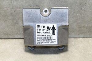 Steuergerät Airbag Airbagsteuergerät Opel Astra H GTC 13251079 EB