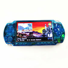 Refurbished Clear Blue Sony PSP-2000 Handheld System Game Console PSP 2000