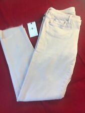 """BNWT 7 FOR ALL MANKIND Women's Pink Sand Pyper Cropped Jeans W28"""""""