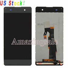 Black LCD Digitizer Display Touch Assembly For Sony Xperia XA F3111 F3113 F3115