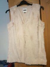 Next Faux Fur gillet /  Waistcoat Size 10