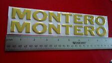 New 1992-1993-1994-1995-1996-1997 Mitsubishi Montero-Montero Fender Emblem-Gold>