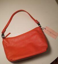 Sue Huston Bag Purse, Leather, Orange NWT