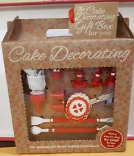 CAKE DECORATING- THE ULTIMATE GIFT SET FOR BAKING ENTHUSIASTS & 64 PAGE BOOK