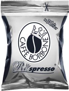 CAPSULE caffe BORBONE RESPRESSO miscela NERA @ NESPRESSO 100 200 300 400 500 600