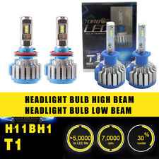 4PCS H1 H11B Headlight Coversion Kit LED Bulb High Beam 97500LM 650W White 6000K