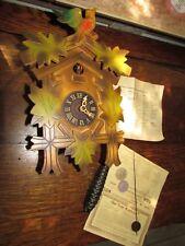 FABULOUS GERMAN COCKOO WALL CLOCK IN ORIGINAL BOX
