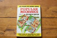 Popular Mechanics Magazine October 1960 60 Pages of Home Ideas