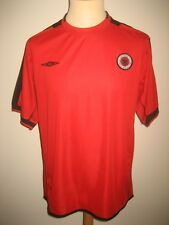 Albania home rare national football shirt soccer jersey trikot maillot size XXL
