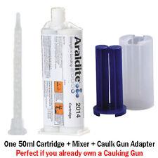 Araldite 2014 High-Temp Chemical-Proof Epoxy Gel-50ml + Caulk Gun Adapter