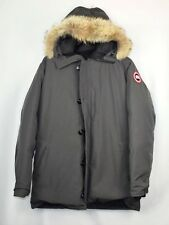 Canada Goose Chateau Down Parka - Men's XXL Gray Grey Coyote Fur Slim Fit