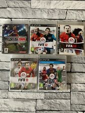 Fifa,PES Football Soccer Bundle PS3 Playstation 3 - 5 Game collection
