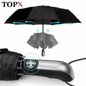 Wind Resistant Fully-Automatic Umbrella Rain Large Travel Business 10K Umbrella