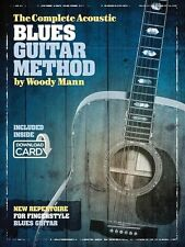 The Complete Acoustic Blues Guitar Method - Book Audio Online NEW 014041296