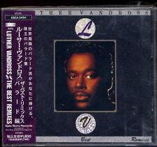 Luther Vandross The Best Remixes Japan 1991 CD w/obi new jack swing ESCA-5454