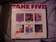 Sony Sampler Laserdisc TAKE FIVE Demo Edition Cartoons Movies Music Children's