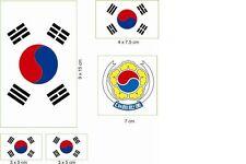 Aufkleber Autokennzeichen ROK = Süd Korea Autoaufkleber Sticker