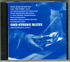 ONE-STRING JONES One-String Blues-Rural Blues ON Skid Row E HAZELTON Rare OOP CD