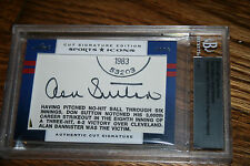 2012 Leaf Prime Cuts Sports Icons Don Sutton & Hoyt Wilhelm Auto SP HOF 1/1